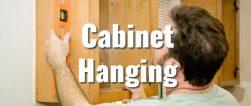 Handyman Cabinet Hanging
